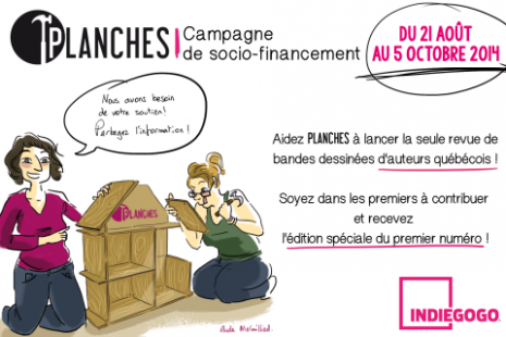 Campagne de socio-financement PLANCHES